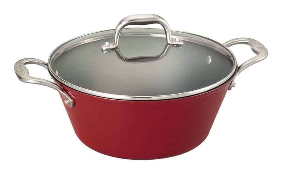 Review of The Guy Fieri Light-Weight Cast Iron 5.5-Quart Red Dutch Oven
