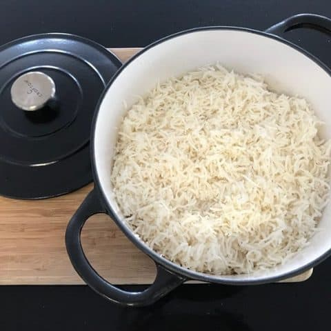 How to cook rice in a cast iron dutch oven