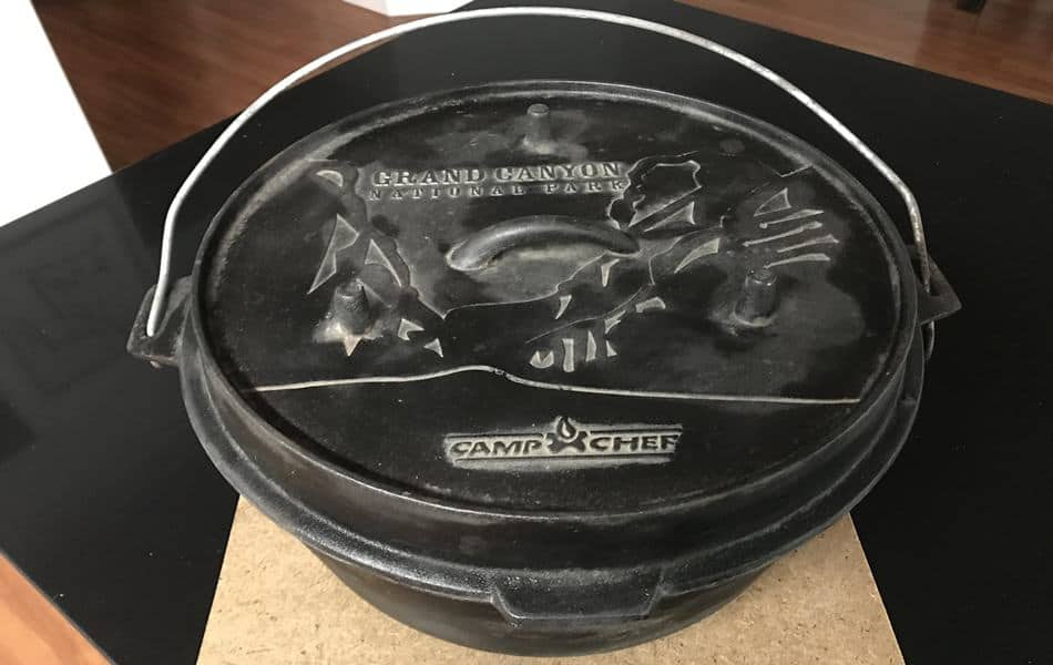 Camp Chef Grand Canyon National Park cast-iron Dutch oven