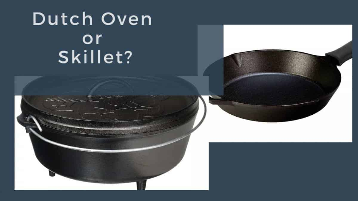 can i use a dutch oven instead of a skillet