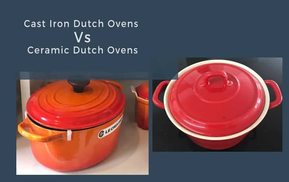 Cast Iron Dutch Ovens Vs Ceramic Dutch Ovens Feature Image