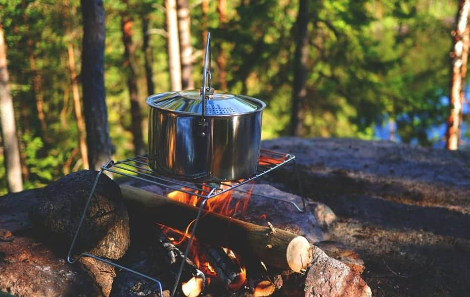 What Is a Dutch Oven Trivet campfire stand or trivet