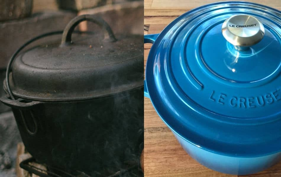 What does a Dutch oven look like dutch oven image