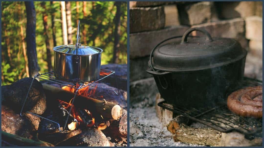 Aluminum vs Cast Iron Cookware image